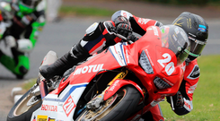 Jetting in: Davy Johnson cannot wait to get from Adelaide to the Dundrod circuit for the Ulster GP