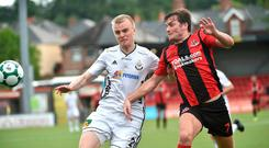 Cautious approach: Philip Lowry believes the Crues cannot afford to go gung-ho against Wolves at Seaview