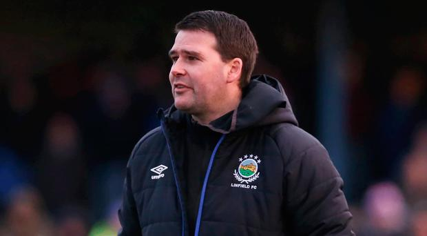 Proud boss: David Healy is thrilled to have a tight-knit group at Windsor