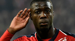 Game changer: Nicolas Pepe scored 22 league goals for Lille last term