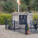 The memorial was dedicated to Jim Lynagh and Padraig McKearney who were killed in an SAS ambush.
