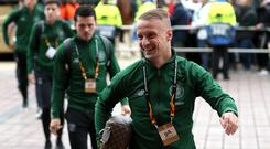 Dangerman: Leigh Griffiths has returned to boost Celtic