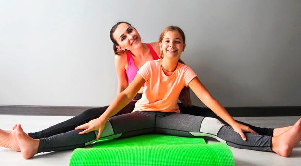 Family fitness: quick exercises can help keep the kids healthy