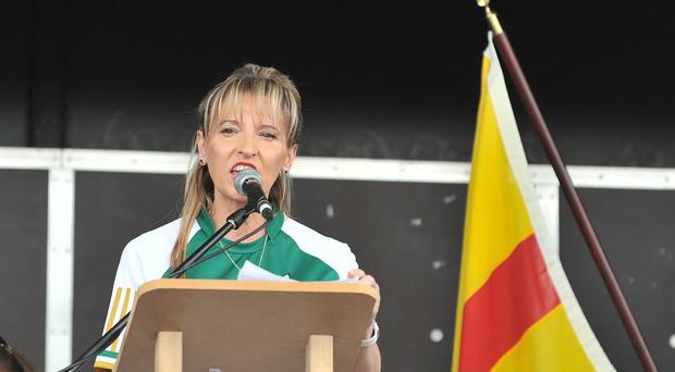 Martina Anderson MEP was the guest speaker at the National Hunger Strike commemoration held in Strabane.