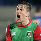All change: Glentoran skipper Marcus Kane will lead his side's bid to prove they're on an upward trajectory