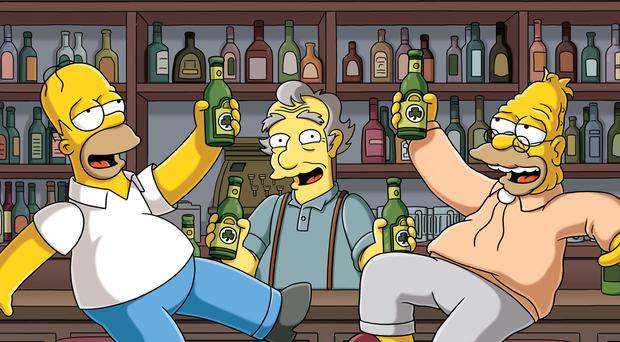 Alf Clausen was the composer on The Simpsons (PA)