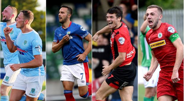 Ballymena United, Linfield, Crusaders and Cliftonville all progressed through a round of European competition this summer.