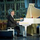 Phil Coulter performs at Feile in Clonard Monastery, west Belfast on August 6th 2019 (Photo by Kevin Scott)