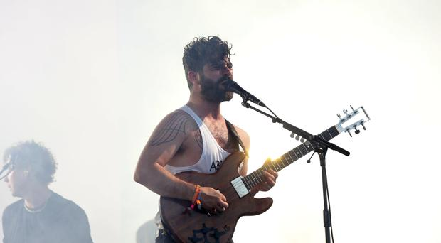 Foals were among the performers lined up for the festival (Yui Mok/PA)