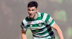 Big challenge: Kieran Tierney has signed for Arsenal