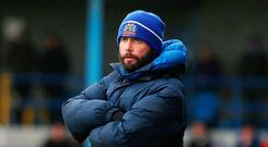 Strong belief: Gary Hamilton is looking to the Glenavon academy as he refuses to pay over the odds in the market