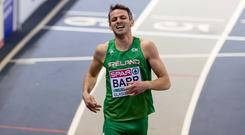 Steady going: Thomas Barr put in a solid performance
