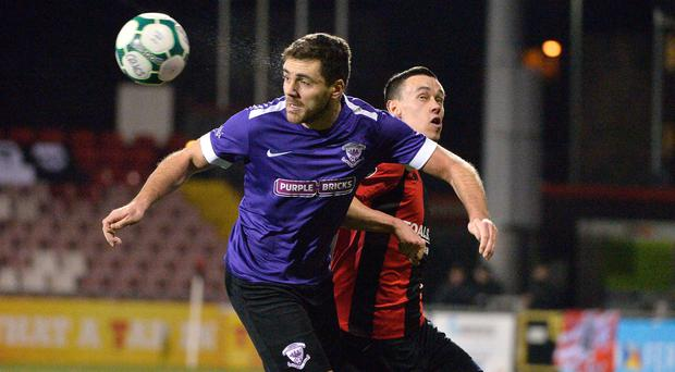 New dawn: Crusaders ace Paul Heatley and Larne's Chris Ramsey will be out to make their mark this season