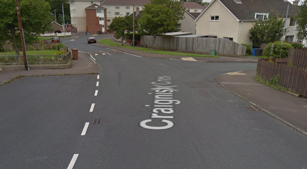 The incident occurred in the Craignish Crescent area. Credit: Google