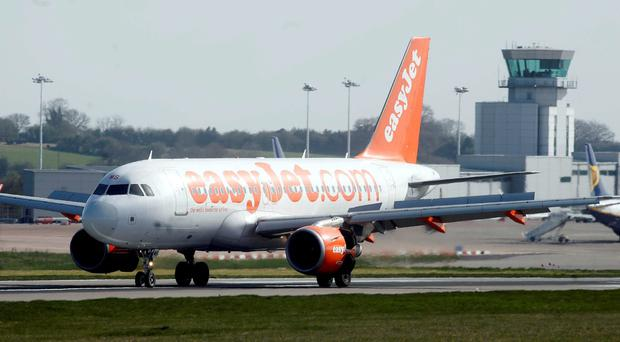 EasyJet cancelled two flights from London to Belfast on Friday evening.