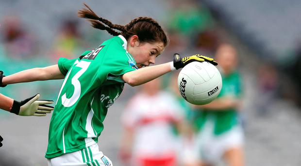 On target: Eimear Smyth notched up six points for Fermanagh