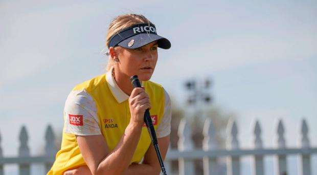 Jetting in: Charley Hull