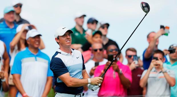 Rory McIlroy is down to third in the FedEx Cup standings with two tournaments to play.