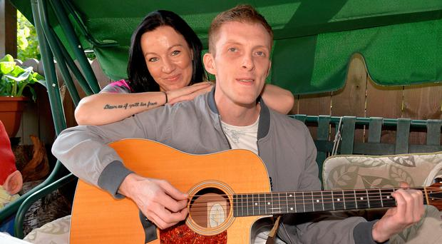 John's song Love Letter is a tribute to fiancee Kasia's letter writing while he was in prison
