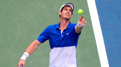 Back in old routine: Andy Murray