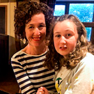 Meabh Quoirin with her daughter Nora