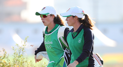 Twin magic: Lisa and Leona Maguire are excited to take part in the ISPS World Invitational, starting tomorrow at Galgorm Castle and Massereene