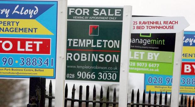 House prices have risen by 3.5% over the past year.