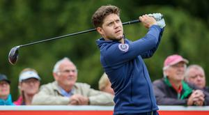 Niall Horan during the Pro-Am at the ISPS Handa World Invitational