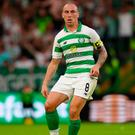 Celtic captain Scott Brown.