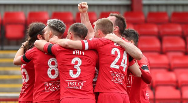 Larne are top of the table after taking two wins from their first two Danske Bank Premiership matches.