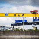 Harland and Wolff in Belfast. Pic Kevin Scott