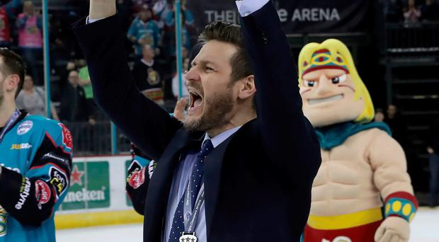 All change: Adam Keefe has had to overhaul his squad since lifting the Elite League title last season