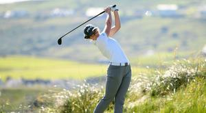Special talent: Lurgan's Annabel Wilson produced a superb round at Galgorm yesterday