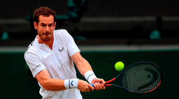 Singles man: Andy Murray has changed his plans