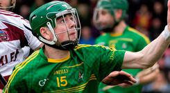 Hot shot: Conal Cunning amassed 14 points for Dunloy Cuchullians