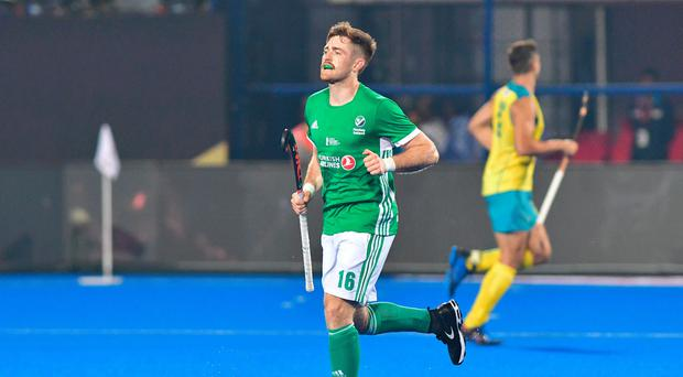 On target: Shane O'Donoghue hit two to salvage a draw for Ireland