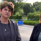 DUP leader Arlene Foster and Sinn Fein MP Michelle Gildernew. Credit: BBC