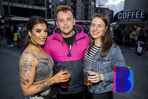 18 Aug 2019 - Music fans out at CHSq. to see Anne Marie. (Liam McBurney/RAZORPIX)