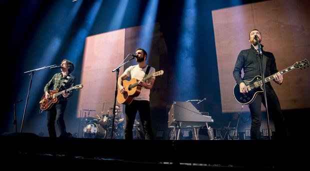 Snow Patrol perform at the SSE Arena in Belfast on December 7th 2018 (Photo by Kevin Scott for Belfast Telegraph )