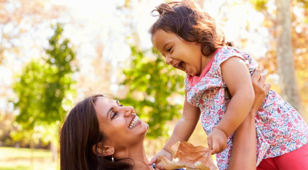 Happy time: having a child late has its advantages but there are hurdles