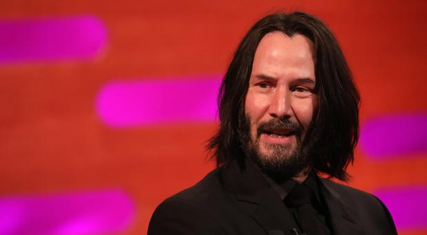 Keanu Reeves will return as Neo (Isabel Infantes/PA)