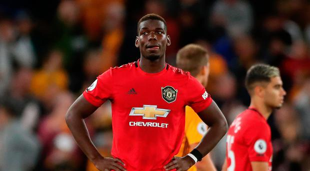 Not on: Paul Pogba received racial abuse on social media