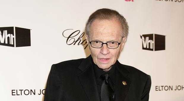 Larry King and Shawn King have two adult sons (Yui Mok/PA)
