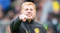 Not happy: Neil Lennon insists Celtic are not off colour