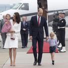 The Cambridges flew economy to Scotland (Matt Porteous/Kensington Palace/PA)