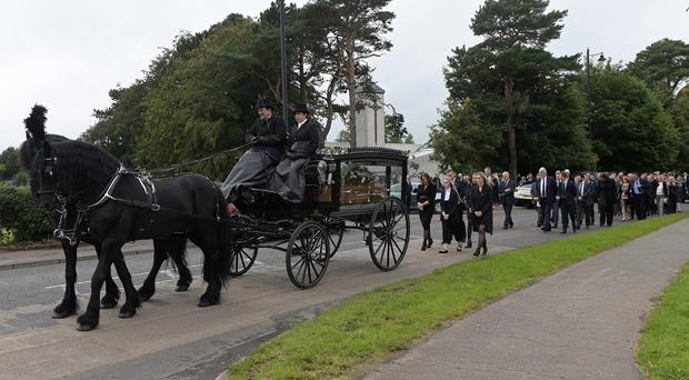 The Funeral of John Mulholland takes place at St Oliver Plunkett Church, Toomebridge on Thursday.