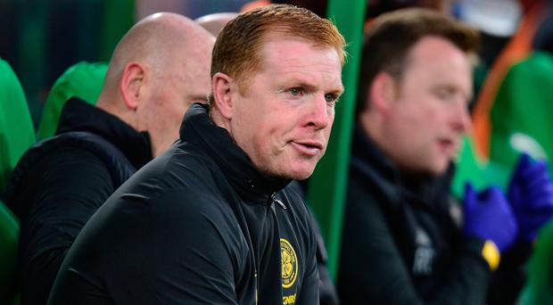 Celtic boss Neil Lennon.