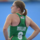 Looking up: Katie Mullan wants to finish on a high note