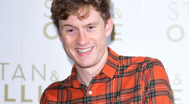 Staying strong: James Acaster