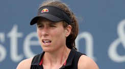Chance: Johanna Konta is seeking to rediscover her form at US Open